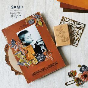 Papier Uni N°22 TERRACOTTA par Florilèges Design. Scrapbooking et loisirs créatifs. Livraison rapide et cadeau dans chaque co...