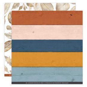 Papier imprimé OR SAISON 5 par Florilèges Design. Scrapbooking et loisirs créatifs. Livraison rapide et cadeau dans chaque co...