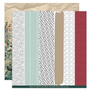 Papier imprimé OH WINTER 3 par Florilèges Design. Scrapbooking et loisirs créatifs. Livraison rapide et cadeau dans chaque co...