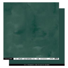 Papier Uni N°29 VERT FORÊT par Florilèges Design. Scrapbooking et loisirs créatifs. Livraison rapide et cadeau dans chaque co...