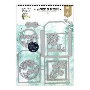 Outils de découpe POCHETTE D'HIVER par Florilèges Design. Scrapbooking et loisirs créatifs. Livraison rapide et cadeau dans c...