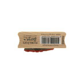 Tampon bois BORDURE DE FEUILLAGES par Florilèges Design. Scrapbooking et loisirs créatifs. Livraison rapide et cadeau dans ch...