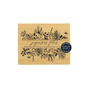 Tampon bois FÊTES MAGIQUES par Florilèges Design. Scrapbooking et loisirs créatifs. Livraison rapide et cadeau dans chaque co...