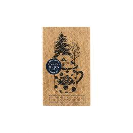 Tampon bois MUG COSY par Florilèges Design. Scrapbooking et loisirs créatifs. Livraison rapide et cadeau dans chaque commande.