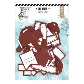 Étiquettes N°24 ROUGE CARMIN par Florilèges Design. Scrapbooking et loisirs créatifs. Livraison rapide et cadeau dans chaque ...