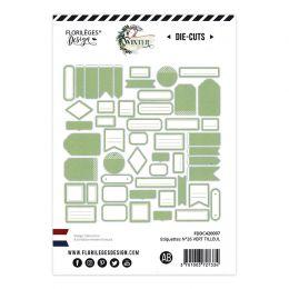 Étiquettes N°26 VERT TILLEUL