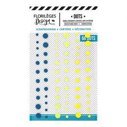 Dots YELLOW par Florilèges Design. Scrapbooking et loisirs créatifs. Livraison rapide et cadeau dans chaque commande.