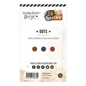 Dots OR SAISON par Florilèges Design. Scrapbooking et loisirs créatifs. Livraison rapide et cadeau dans chaque commande.
