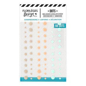 Dots JEANNE par Florilèges Design. Scrapbooking et loisirs créatifs. Livraison rapide et cadeau dans chaque commande.