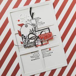 Tampon bois ÉTIQUETTES HIVERNALES par Florilèges Design. Scrapbooking et loisirs créatifs. Livraison rapide et cadeau dans ch...