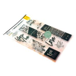 Tampons clear PHOTO FOCUS par Florilèges Design. Scrapbooking et loisirs créatifs. Livraison rapide et cadeau dans chaque com...