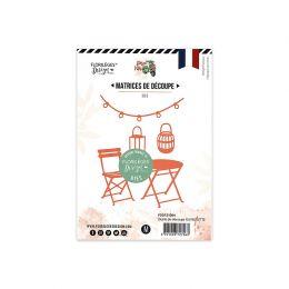 Outils de découpe GUINGUETTE par Florilèges Design. Scrapbooking et loisirs créatifs. Livraison rapide et cadeau dans chaque ...