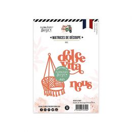 Outils de découpe DOLCE VITA par Florilèges Design. Scrapbooking et loisirs créatifs. Livraison rapide et cadeau dans chaque ...