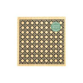 Tampon bois CANNAGE par Florilèges Design. Scrapbooking et loisirs créatifs. Livraison rapide et cadeau dans chaque commande.