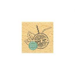 Tampon bois ENJOY LIFE par Florilèges Design. Scrapbooking et loisirs créatifs. Livraison rapide et cadeau dans chaque commande.