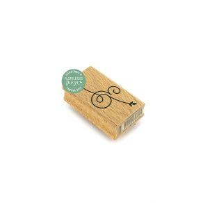 Tampon bois ESPERLUETTE ELANCEE par Florilèges Design. Scrapbooking et loisirs créatifs. Livraison rapide et cadeau dans chaq...