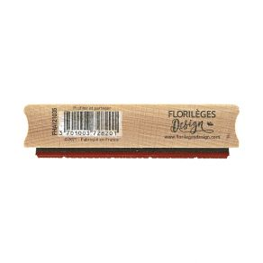 Tampon bois PROFITER ET PARTAGER par Florilèges Design. Scrapbooking et loisirs créatifs. Livraison rapide et cadeau dans cha...