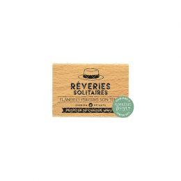 Tampon bois RÊVERIES SOLITAIRES par Florilèges Design. Scrapbooking et loisirs créatifs. Livraison rapide et cadeau dans chaq...