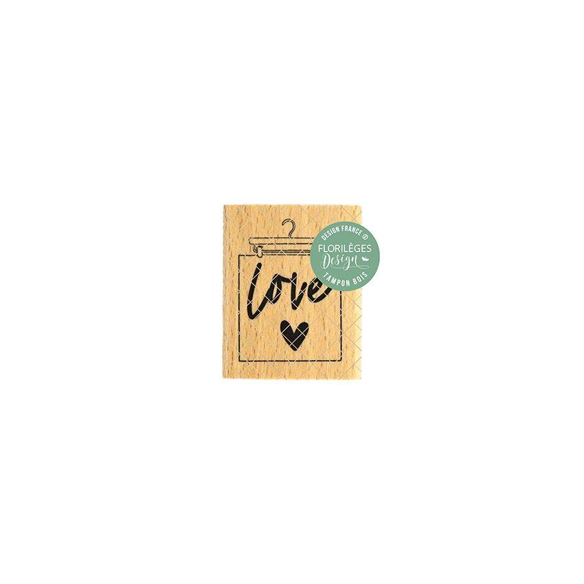 Tampon bois SUSPENSION LOVE