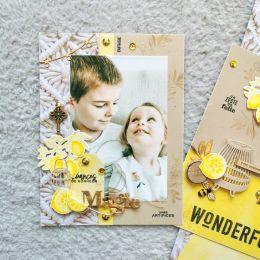 Papier imprimé DOLCE VITA 4 par Florilèges Design. Scrapbooking et loisirs créatifs. Livraison rapide et cadeau dans chaque c...