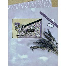 Papier uni n°32 MAUVE DE PERSE par Florilèges Design. Scrapbooking et loisirs créatifs. Livraison rapide et cadeau dans chaqu...