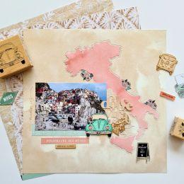 Papier uni n°34 BEIGE BLOND par Florilèges Design. Scrapbooking et loisirs créatifs. Livraison rapide et cadeau dans chaque c...