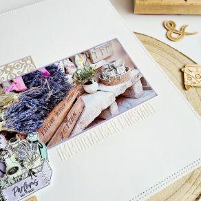 Pochoir PÊLE-MÊLE par Florilèges Design. Scrapbooking et loisirs créatifs. Livraison rapide et cadeau dans chaque commande.