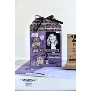 Tampon bois COLLECTION D'ÉTÉ par Florilèges Design. Scrapbooking et loisirs créatifs. Livraison rapide et cadeau dans chaque ...