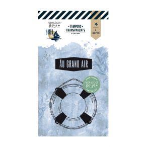 Tampon clear AU GRAND AIR par Florilèges Design. Scrapbooking et loisirs créatifs. Livraison rapide et cadeau dans chaque com...