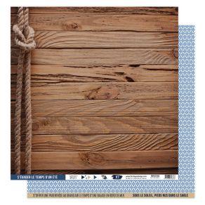 Kit papiers imprimés VUE SUR MER par Florilèges Design. Scrapbooking et loisirs créatifs. Livraison rapide et cadeau dans cha...