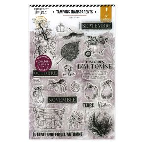 Tampons clear HISTOIRE D'AUTOMNE