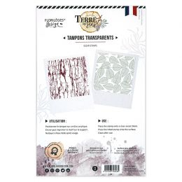 Tampons clear TEXTURES D'AUTOMNE