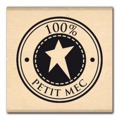Tampon bois BULLE DE PETIT MEC par Florilèges Design. Scrapbooking et loisirs créatifs. Livraison rapide et cadeau dans chaqu...