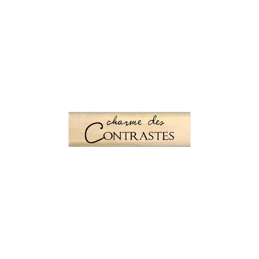 CHARME DES CONTRASTES