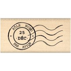 Tampon bois CACHET DE NOEL par Florilèges Design. Scrapbooking et loisirs créatifs. Livraison rapide et cadeau dans chaque co...