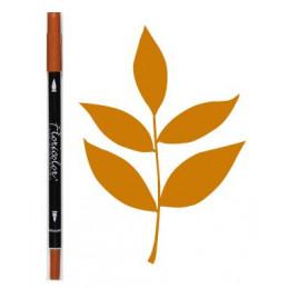 Feutre encreur Floricolor CANNELLE par Florilèges Design. Scrapbooking et loisirs créatifs. Livraison rapide et cadeau dans c...
