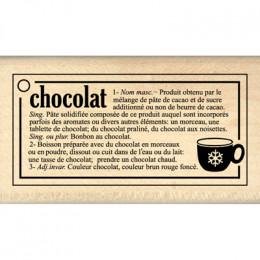 DEFINITION CHOCOLAT