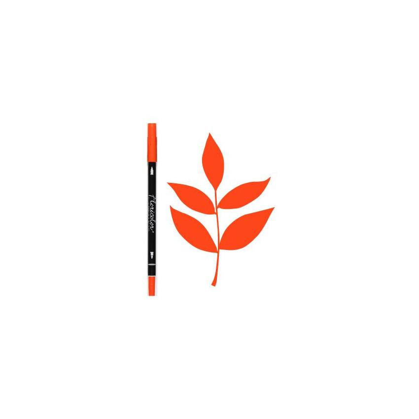 Feutre encreur Floricolor CITROUILLE par Florilèges Design. Scrapbooking et loisirs créatifs. Livraison rapide et cadeau dans...