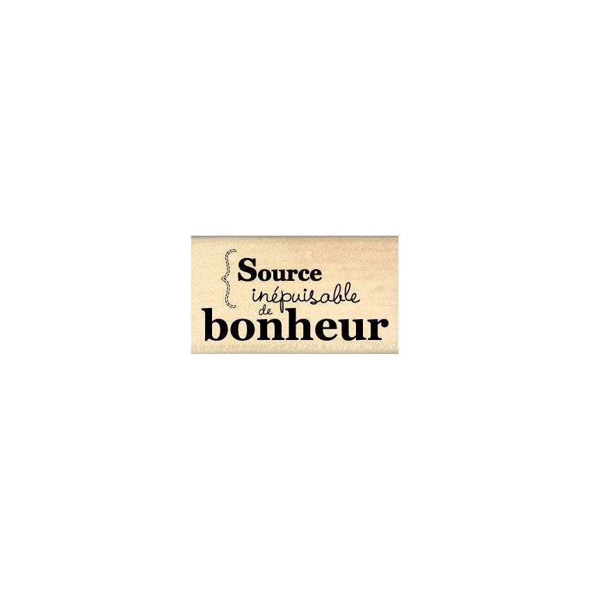 SOURCE DE BONHEUR