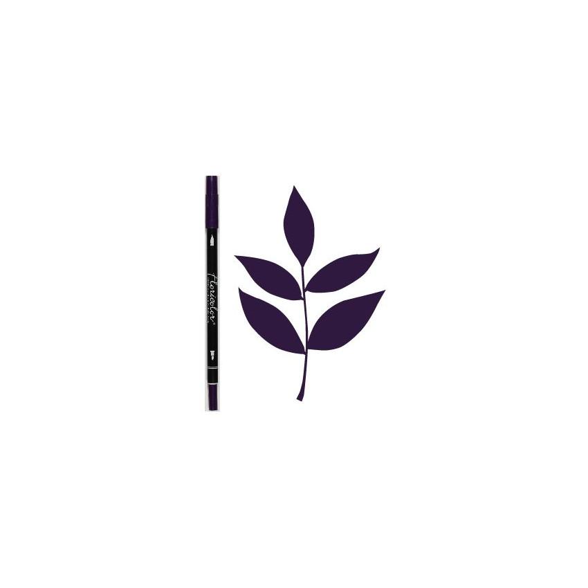 Feutre encreur Floricolor AUBERGINE par Florilèges Design. Scrapbooking et loisirs créatifs. Livraison rapide et cadeau dans ...