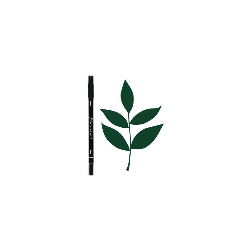 Feutre encreur Floricolor VERT BOUTEILLE par Florilèges Design. Scrapbooking et loisirs créatifs. Livraison rapide et cadeau ...