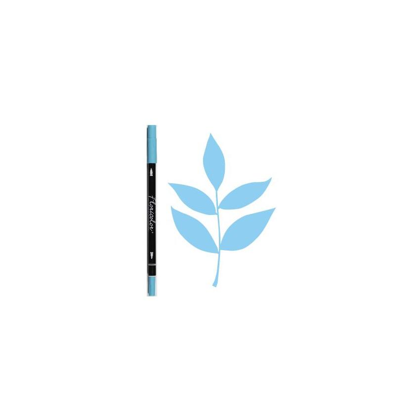 Feutre encreur Floricolor AZURINE par Florilèges Design. Scrapbooking et loisirs créatifs. Livraison rapide et cadeau dans ch...
