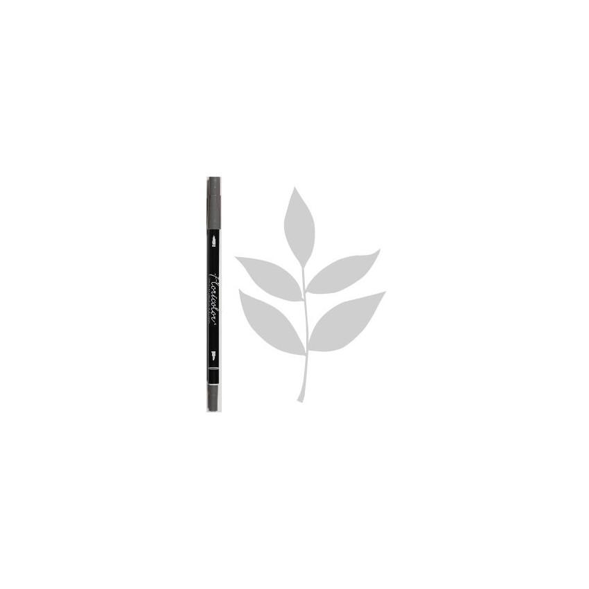 Feutre encreur Floricolor CENDRE par Florilèges Design. Scrapbooking et loisirs créatifs. Livraison rapide et cadeau dans cha...