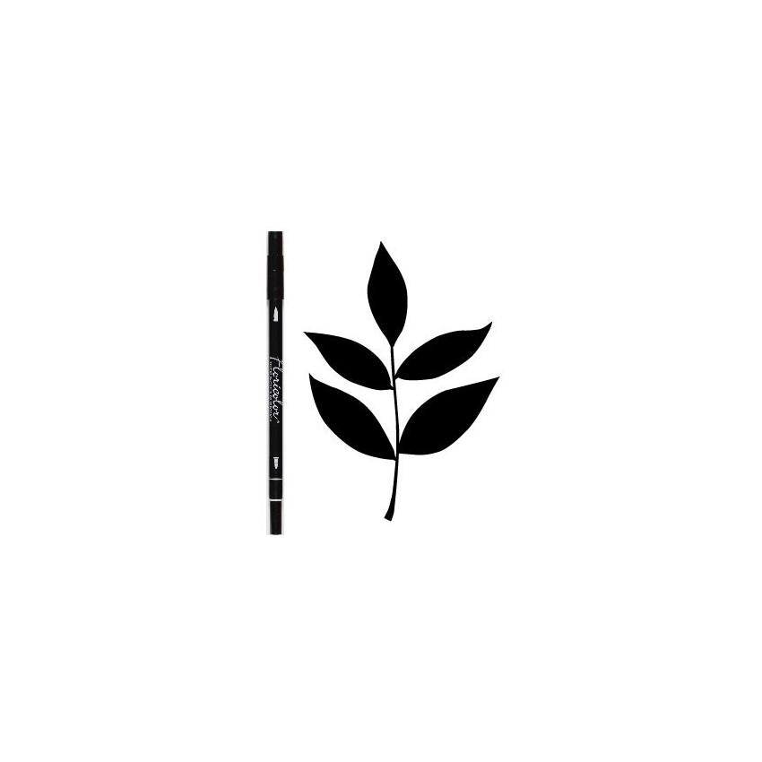 Feutre encreur Floricolor EBENE par Florilèges Design. Scrapbooking et loisirs créatifs. Livraison rapide et cadeau dans chaq...