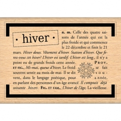 DEFINITION DE L\'HIVER