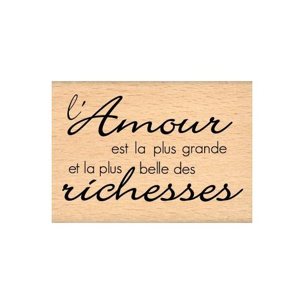 RICHESSE D\'AMOUR