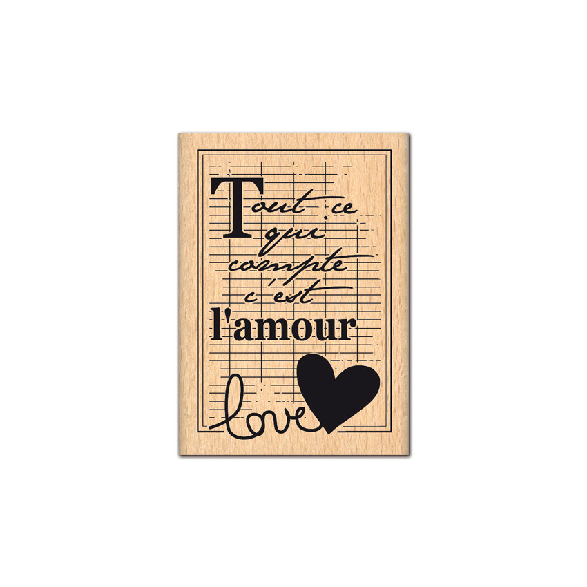 CAHIER D\'AMOUR