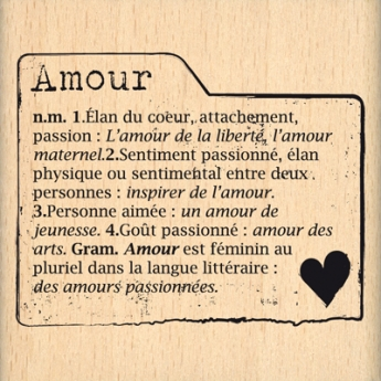 ONGLET AMOUR