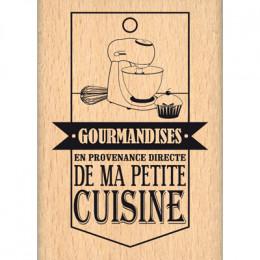 Commandez Tampon bois DE MA PETITE CUISINE Florilèges Design. Livraison rapide et cadeau dans chaque commande.