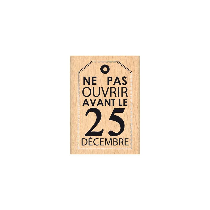 PAS AVANT LE 25